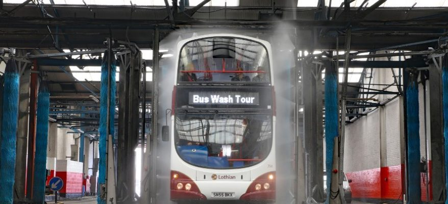 Kirton bus wash systems